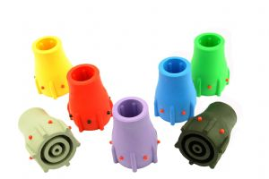 "Ferrule for Walking Stick, Cane, etc Every Colour Pack, 19mm (3/4"") or 22mm (7/8"").  L0004"